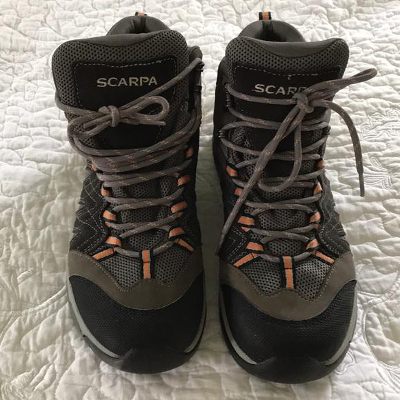 3a6e7bc0d072d Men s Scarpa Gore-Tex Hiking Boots- Sz-10 1 2. M 5a467002331627eff71141d1